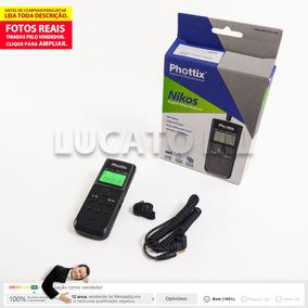 Intervalômetro Phottix Nikos P/ Canon Tc501 C8 +frete Grátis