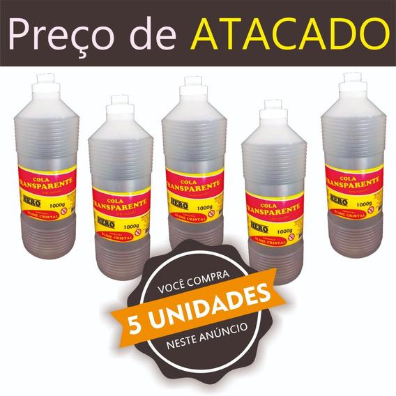 Kit Cola Clear Glue Slime 5kg - Atacado - Frete Grátis