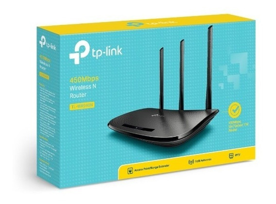 Roteador Wireless Tp-link Tl-wr949n 3 Antenas Fixas + Nfe