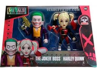 Joker Boss + Harley Quinn Figuras Metals 11 Cm Diecast Jada