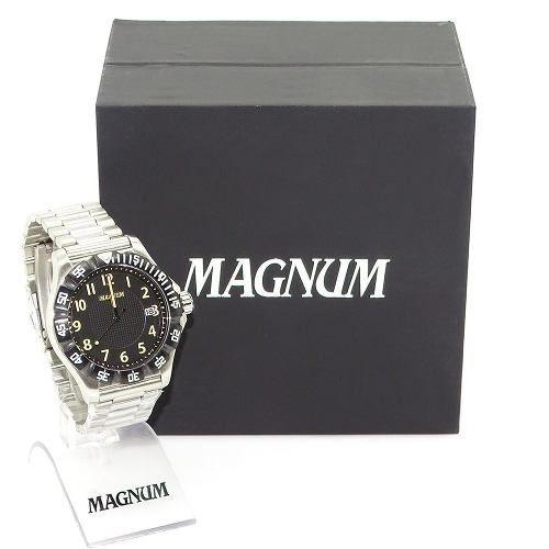 Relogio Masculino Magnum Ma34110c Original