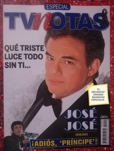 Imagen 1 de 1 de José José/ Tv Notas Especial/ Biografía.