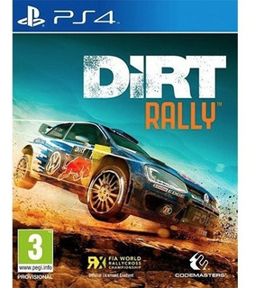 Dirt Rally Ps4 - Juego Fisico - Prophone