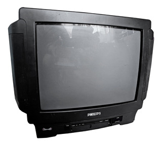Television Color Phillips 21 Tv Powervision Multi System