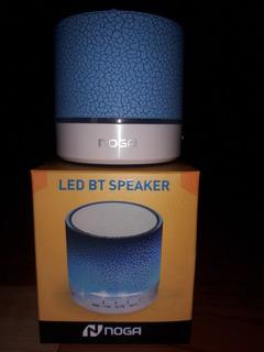 Parlante Noga Bluetooth C/ Luces Leds