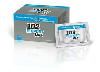 102 Sport Max Vitaminas Minerales Creatina 30 Sobres