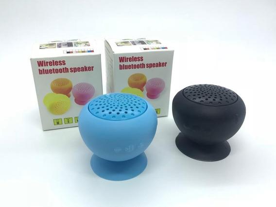 Mini Caixa De Som Bluetooth Ventosa