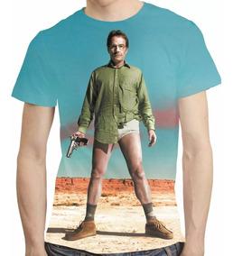 Camisa Breaking Bad Camiseta Walter White - Estampa Total