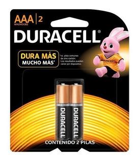 Pilas Aaa Duracell Alcalinas Blister X 2 Unidades