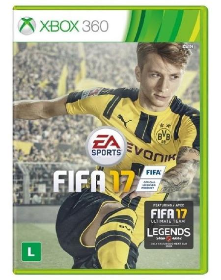 Fifa 17 - Futebol - Português - Xbox 360 [ Mídia Física, Nova, Original E Lacrada ]