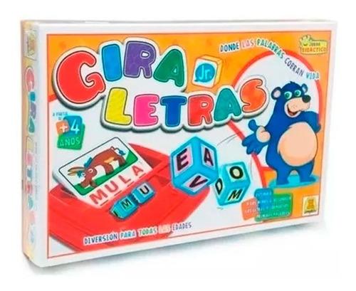 Juego Didáctico Gira Letras Jr. 411 E. Full