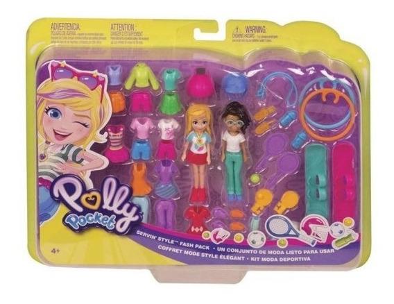 Polly Pocket Kit Grande De Moda Ggj48