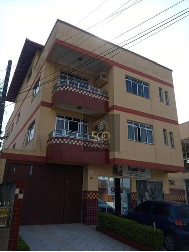 Pr0001 - Prédio Com 4 Apartamentos E 1 Sala Comercial - Barreiros / São José - Pr0001