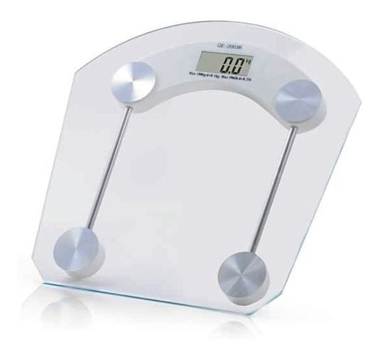 Bascula Digital 180kg Personal Cristal Templado Peso Baño