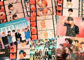 Bts 8 Poster Tamaño Carta Papel Fotográfico Envío Incluído