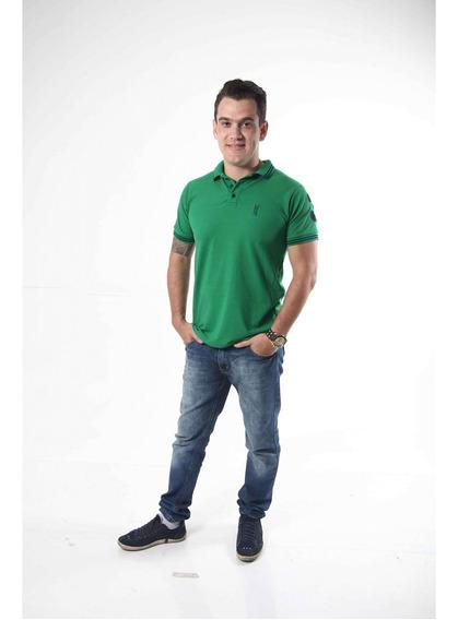 Camisa Polo Verde Esperança