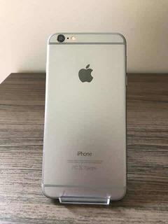 iPhone 6 128gb Sem Touch Id Saude Bateria 99% - Capinha