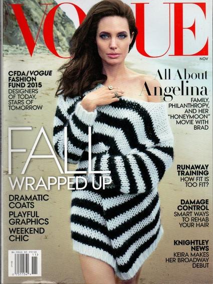 Vogue Revista Us - Angelina Jolie