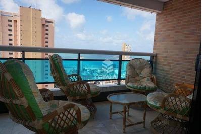 Apartamento Com 2 Quartos À Venda, 72 M², Vista Mar, Mobiliado, Área De Lazer, 2 Vagas - Praia De Iracema - Fortaleza/ce - Ap1533