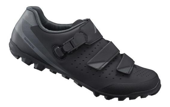 Zapatillas Ciclismo Mtb - Shimano Me301 Negro