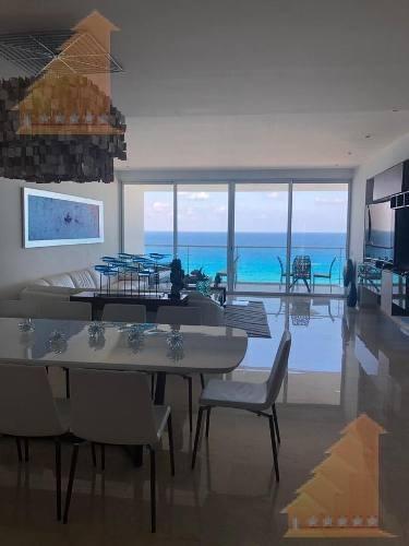 Lujoso Y Exclusivo Departamento En Venta Vista Al Mar Emerald Zona Hotelera