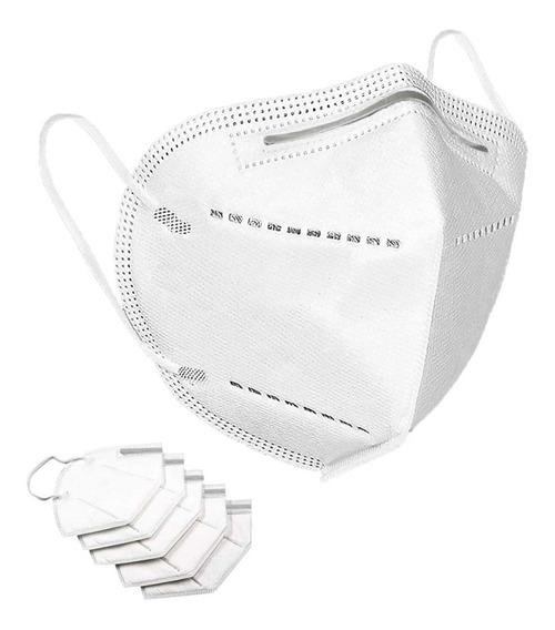 Paquete De 5 Cubrebocas Lavable Antiviral 4 Capas Protección