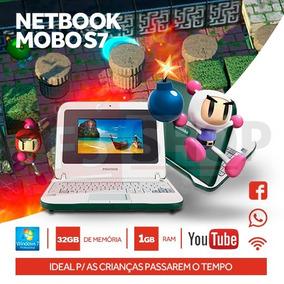 Notebook Para Crianças Resistente 32gb Memória Windows7 Wifi
