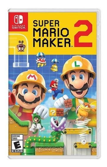 Super Mario Maker 2 Nintendo Switch Nuevo Y Sellado