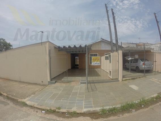 Casa Para Aluguel, 2 Dormitórios, Bairro Valinhos - Tatuí - 56001