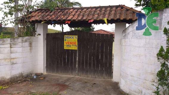 Chácara Com 3 Dormitórios À Venda, 1200 M² Por R$ 700.000,00 - Veraneio Irajá - Jacareí/sp - Ch0037