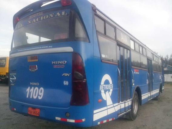 Vendo Bus Urbano Hino Ak 2012