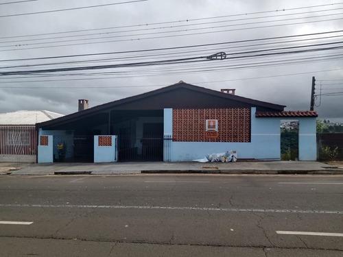 Imagem 1 de 22 de Casa Com Comercial 4 Dormitórios À Venda, 200 M² Por R$ 500.000 - Neves - Ponta Grossa/pr - Ca0849
