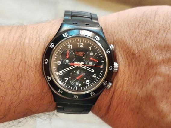 Reloj Swatch Irony Aluminium Original Cronógrafo Excelente