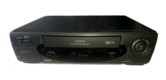 Vídeo Cassete Semp X685 5 Cabeças Leiam O Anuncio