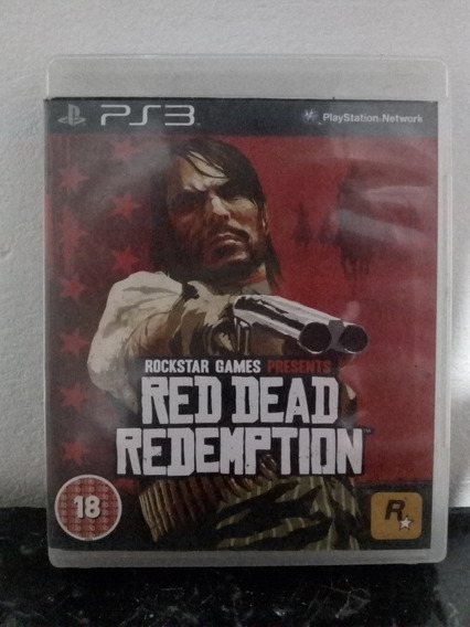 Red Dead Redemption Mídia Física - Ps3
