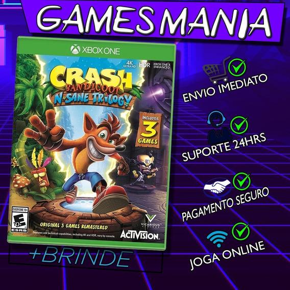 Crash Bandicoot Xbox One + 2 Brindes