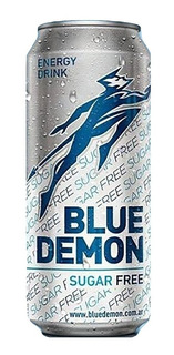 Bluedemon Energy Drink Sugar Free Pack X 12 Unidades 473 Ml