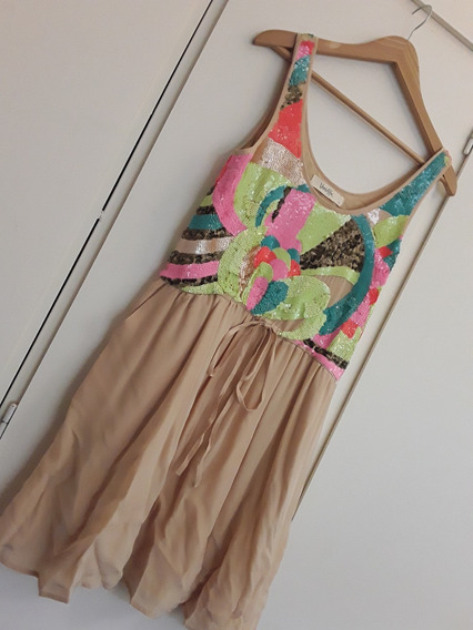Vestido Bordado Vero Alfie - Liquido: $ 2450 !!! Hermoso!