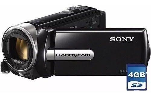 Câmera Handycam Sony Dcr-sx22 Com 70x Zoom Óptico