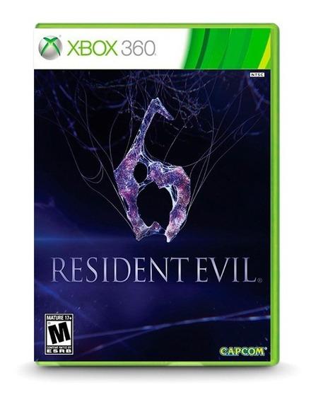 Resident Evil 6 - Original Para Xbox 360 Novo