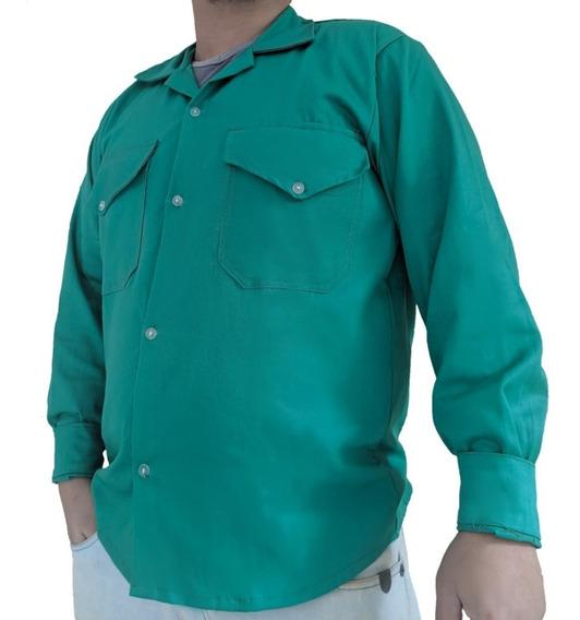 2 Camisas Social Barbeiro Mecânico Eletricista Cabeleireiro