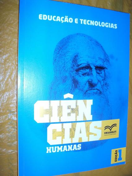 Educação E Tecnologias: Ciências Humanas (sebo Amigo)