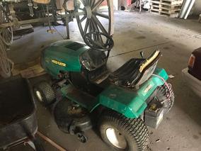 Mini Tractor Cortacesped Weed Eater 18,5 Hp Funcionando
