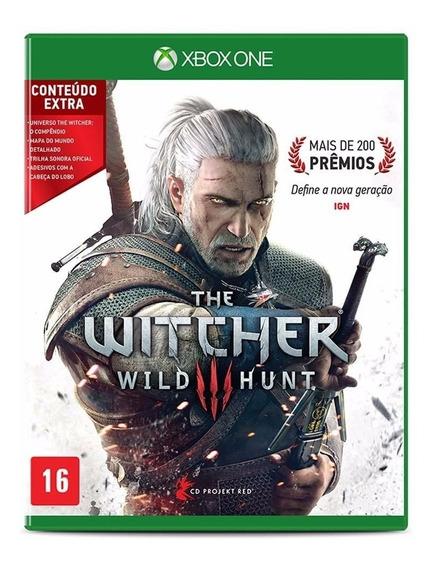 Jogos Para Xbox One The Witcher 3 Em Midia Física Microsoft
