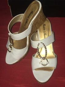 De Libre Sandalias Venezuela Zapatos Doradas Corrido Tacon Mercado En 34RALj5