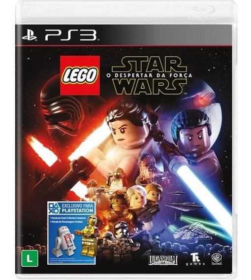 Jogo Ps3 Lego Star Wars: O Despertar Da Força - Novo