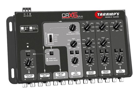 Crossover Taramps Crx 5 Plus 8v 5 Vias / Amplificador Planta