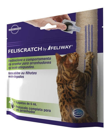 Feliscratch - Arranhadores Feliway 9 Pipetas 5ml Ceva