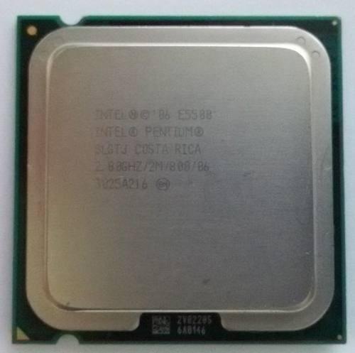 Processador Intel 775 Pentium Dual Core E5500 2.8