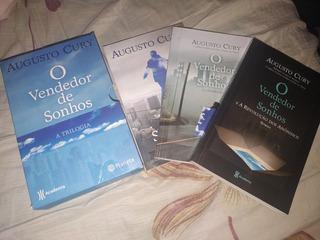 Kit 3 Livros O Vendedor De Sonhos Augusto Cury